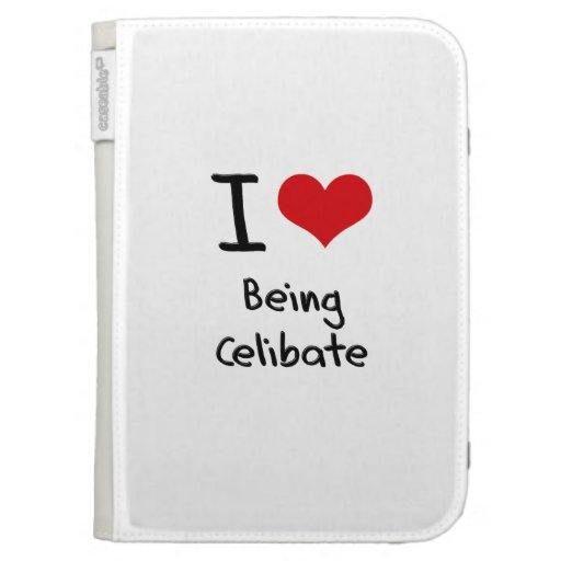 I love Being Celibate Kindle Cases