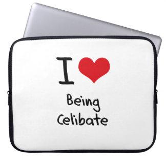 I love Being Celibate Laptop Sleeves