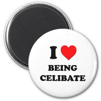 I love Being Celibate Fridge Magnets