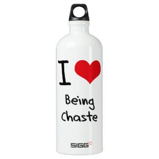 I love Being Chaste SIGG Traveler 1.0L Water Bottle