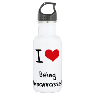 I love Being Embarrassed 532 Ml Water Bottle