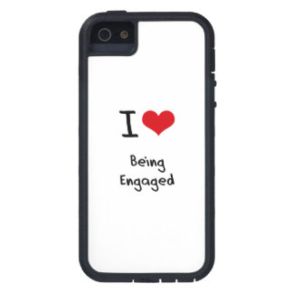 I love Being Engaged iPhone 5 Cases