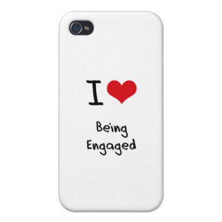 I love Being Engaged iPhone 4/4S Case