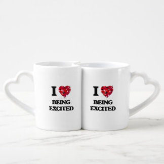 I love Being Excited Couples Mug