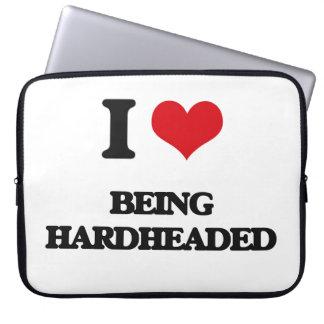 I Love Being Hardheaded Laptop Computer Sleeve