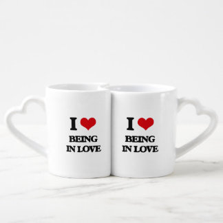 I love Being In Love Couple Mugs
