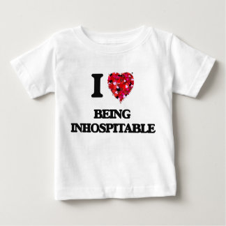 I Love Being Inhospitable T Shirts