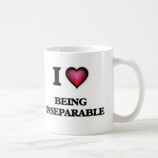 i lOVE bEING iNSEPARABLE Coffee Mug