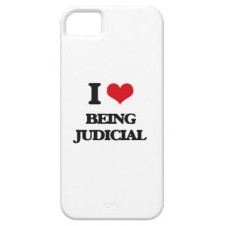 I love Being Judicial iPhone 5 Case