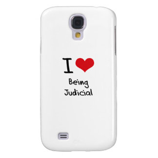 I love Being Judicial Samsung Galaxy S4 Covers