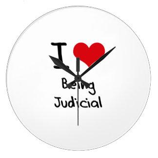 I love Being Judicial Wallclock