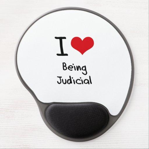I love Being Judicial Gel Mousepads