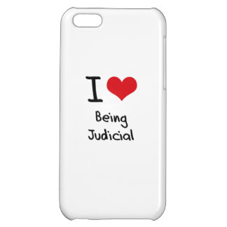 I love Being Judicial iPhone 5C Cover