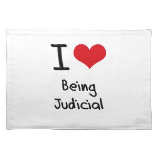 I love Being Judicial Place Mats