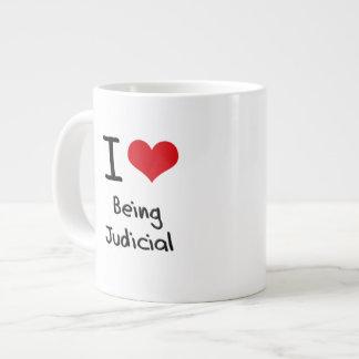 I love Being Judicial Jumbo Mugs