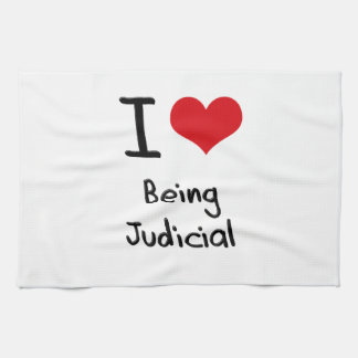 I love Being Judicial Kitchen Towel