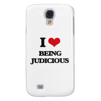 I Love Being Judicious Galaxy S4 Covers