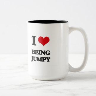 I Love Being Jumpy Mugs