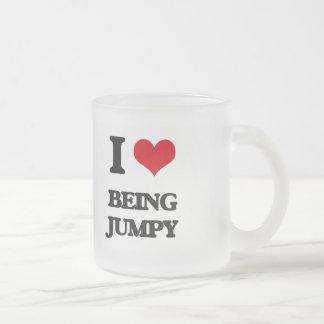 I Love Being Jumpy Coffee Mugs
