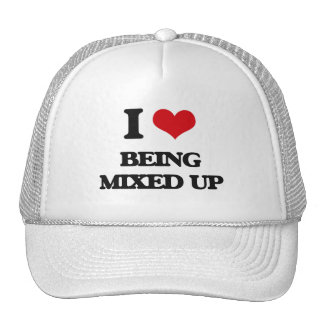 I Love Being Mixed Up Trucker Hat