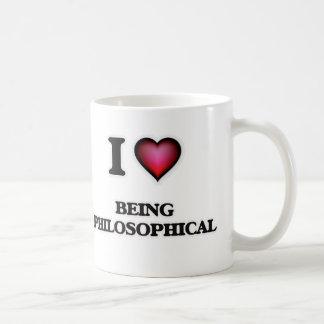 I Love Being Philosophical Coffee Mug