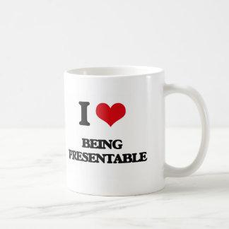 I Love Being Presentable Coffee Mug