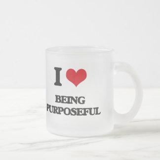 I Love Being Purposeful Mugs