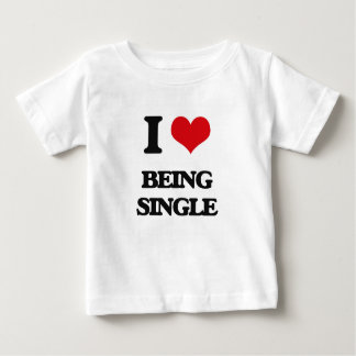 I Love Being Single Shirts