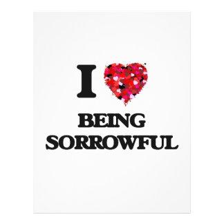 I love Being Sorrowful 21.5 Cm X 28 Cm Flyer