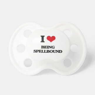I love Being Spellbound BooginHead Pacifier