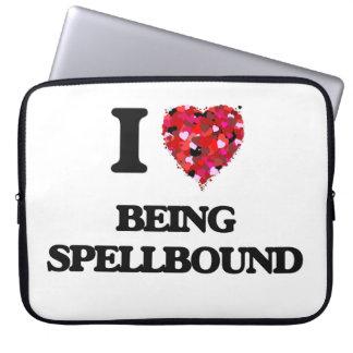 I love Being Spellbound Computer Sleeve