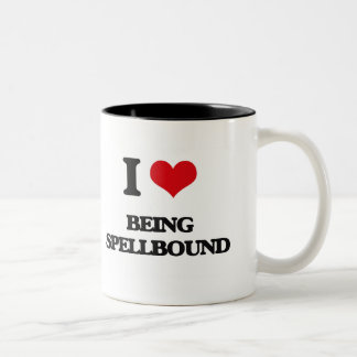 I love Being Spellbound Coffee Mugs