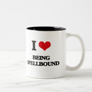 I love Being Spellbound Coffee Mugs