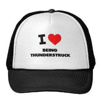 I love Being Thunderstruck Trucker Hat