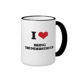I love Being Thunderstruck Mugs