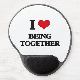 I love Being Together Gel Mouse Mat