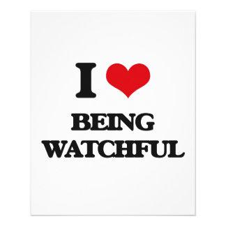 I love Being Watchful Custom Flyer