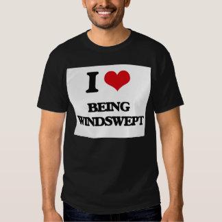 I love Being Windswept Tshirts