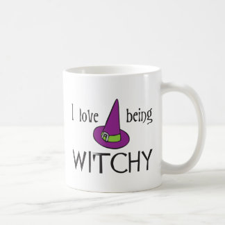 I Love Being Witchy Mugs