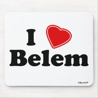 I Love Belem Mouse Pads