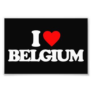 I LOVE BELGIUM PHOTO