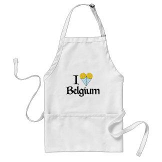 I Love Belgium Standard Apron