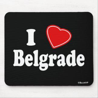 I Love Belgrade Mouse Pad