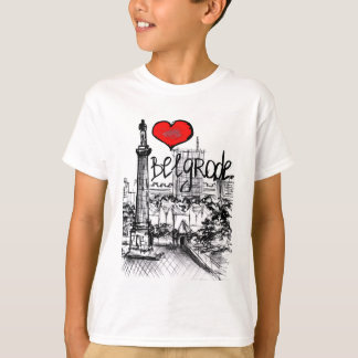 I love Belgrade T-Shirt