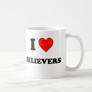 I Love Believers Coffee Mugs