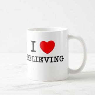I Love Believing Coffee Mug
