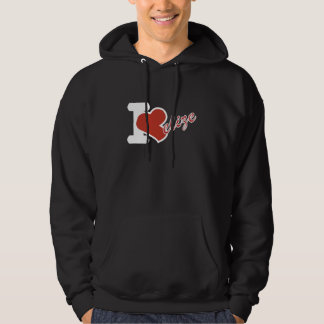 I love Belize Independence Day Hoodie