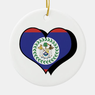 I Love Belize Ornament