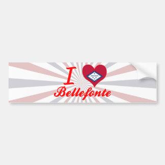 I Love Bellefonte, Arkansas Bumper Stickers