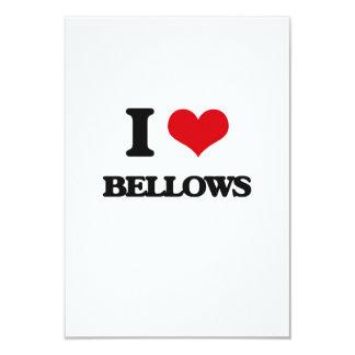 "I Love Bellows 3.5"" X 5"" Invitation Card"